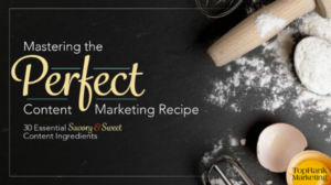 New eBook: 30 Essential Ingredients to Stock Your Content Marketing Kitchen